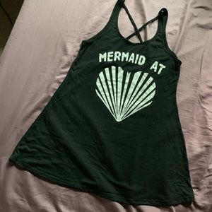 """Mermaid at Heart"" swim cover up"